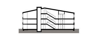 Maison A coupe Wohnüberbauung Widenbüel de ARGE architektick_ScherrerValentin_MMT