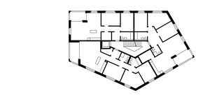 Maison-A 1er étage Wohnüberbauung Widenbüel de ARGE architektick_ScherrerValentin_MMT