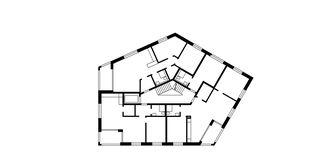 Maison-C 1er étage Wohnüberbauung Widenbüel de ARGE architektick_ScherrerValentin_MMT