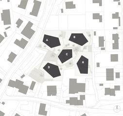 Situation Wohnüberbauung Widenbüel de ARGE architektick_ScherrerValentin_MMT