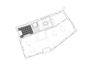 Grundriss EG Wohn- und Geschäftshaus Tschanz von SEILERLINHART Architekten SIA BSA