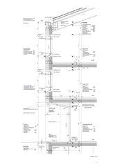 Detail 1:30 Sanierung und Erweiterung Alters- und Pflegeheim Ilanz von ARGE Aschwanden Schürer Architekten AG/Curdin Michael Architekt GmbH