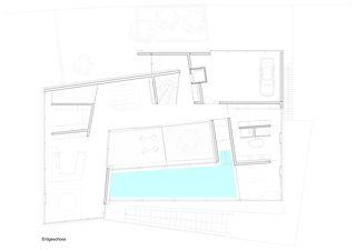 Erdgeschoss Villa Rohrer von Scheitlin Syfrig Architekten AG