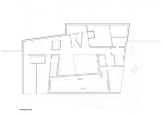 Untergeschoss Villa Rohrer von Scheitlin Syfrig Architekten AG