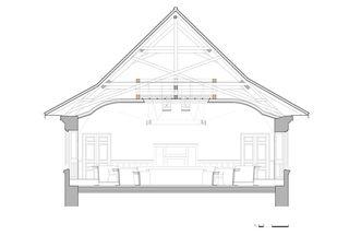 querschnitt a3 50 Kantonsratssaal Solothurn von guido kummer + partner architekten