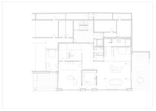 Grundriss Stadtvillen, Luzern von Frank Lüdi Architekturbüro