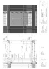 Detailschnitt Loggia, M 1:20 Wohnen am Schaffhauserrheinweg, Basel von jessenvollenweider architektur gmbh