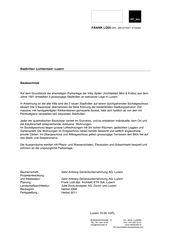 Objektbeschrieb Stadtvillen, Luzern von Frank Lüdi Architekturbüro