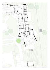 Grundriss EG M 1-200 (A3) Restaurant ALPENBLICK Stiftung Uetendorfberg de Büning-Pfaue Kartmann Architekten