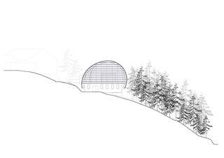 Ansicht seilbahn weissenstein von guido kummer + partner architekten