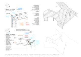 Konstruktion + Detail M 1-20 Restaurant ALPENBLICK Stiftung Uetendorfberg de Büning-Pfaue Kartmann Architekten