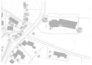 Situation 1:500 Erweiterung und Sanierung Wohn- und Pflegeheim Lindenbaum, Zuzwil SG von GFA Gruppe für Architektur GmbH