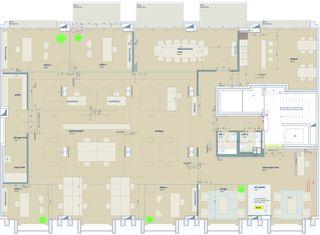 Grundriss International Headoffice Luzern von Dipl. Architekten FH/SIA<br/>