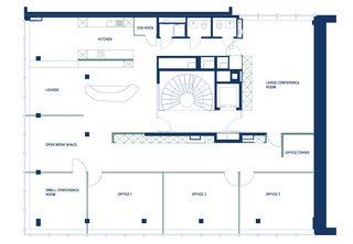Grundriss Head Office Switzerland, Luzern von Dipl. Architekten FH/SIA<br/>