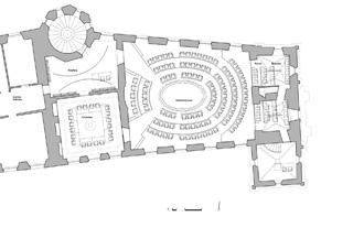grundriss a3 100 Kantonsratssaal Solothurn von guido kummer + partner architekten