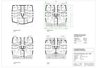 Maison de point plan au sol zoomée Eschenpark de Stalder Architektur GmbH