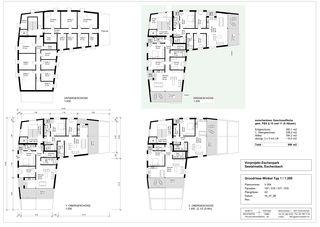 Winkelhaus Grundriss ausgezoomt Eschenpark von Stalder Architektur GmbH