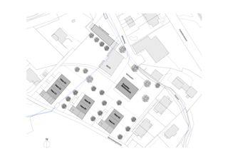 Situation MFH Mühlescheune von Beck + Oser Architekten ETH SIA GmbH
