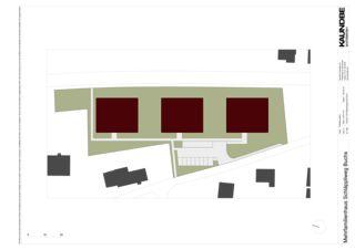 Situation 1:500 Mehrfamilienhäuser Schläppliweg Buchs von Kaundbe Architekten AG