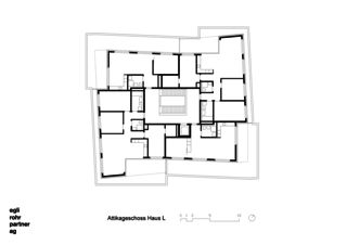 Attique Maison L Verdichtung Wohnsiedlung Frankental Zürich-Höngg de ERP Architekten AG