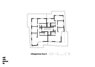 Attique Maison S Verdichtung Wohnsiedlung Frankental Zürich-Höngg de ERP Architekten AG