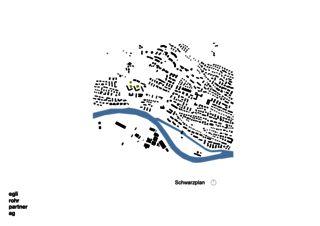 Plan de masse Verdichtung Wohnsiedlung Frankental Zürich-Höngg de ERP Architekten AG