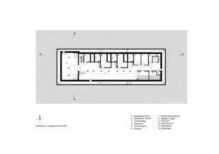 3. UG Netzstützpunkt und Unterwerk Oerlikon von illiz architektur GmbH