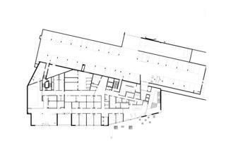 Sockelgeschoss Berit Klinik von direco ag architekten.realisierer