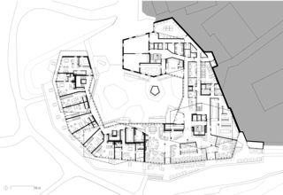 Erdgeschoss Hotel Frutt Family Lodge & Melchsee Apartments de architekturwerk ag