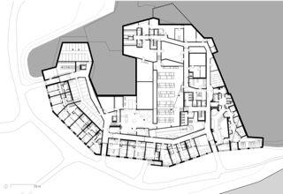 Untergeschoss/Seegeschoss Hotel Frutt Family Lodge & Melchsee Apartments de architekturwerk ag