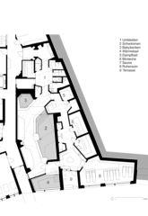 Grundriss Wellness mit Legende Hotel Frutt Family Lodge & Melchsee Apartments de architekturwerk ag