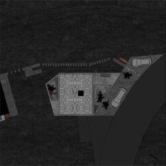 Grundriss Dach Betonhaus in Caviano von Studio d'architettura wdmra<br/>
