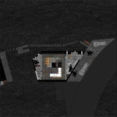 Grundriss 3 Betonhaus in Caviano von Studio d'architettura wdmra<br/>