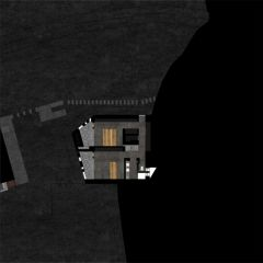 Grundriss 2 Betonhaus in Caviano von Studio d'architettura wdmra<br/>