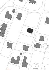 Situation 1:500 EFH Duggingen von mmarch - Mader Marti Architektur ETH