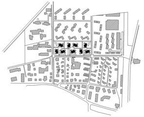 Situation Wohnüberbauung Sonnenhof von Fischer Architekten AG