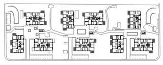 Erdgeschoss Wohnüberbauung Sonnenhof von Fischer Architekten AG