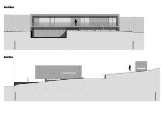 Ansichten EFH Riehen von WANNERPARTNER ARCHITEKTEN GmbH
