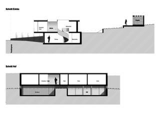 Schnitte EFH Riehen von WANNERPARTNER ARCHITEKTEN GmbH