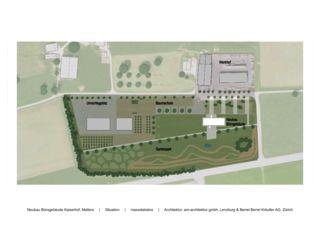 Umgebung Neubau Bürogebäude Kaiserhof von am-architektur gmbh