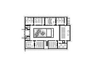 Rez-de-chaussée Kantonsschule Zürcher Oberland - Kleiner Spezialtrakt - Wetzikon de Leuppi & Schafroth Architekten AG