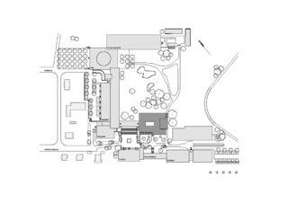 Situation Kantonsschule Zürcher Oberland - Kleiner Spezialtrakt - Wetzikon von Leuppi & Schafroth Architekten AG