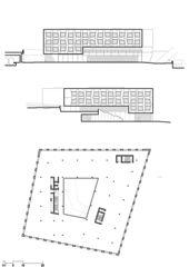 Niveau 2 et façades Terrasses von Atelier Cube SA