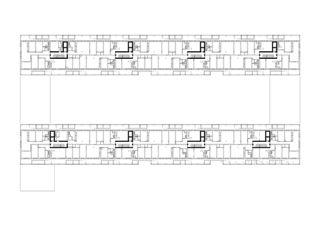 Plan au sol Giesserei de Galli Rudolf Architekten AG ETH BSA