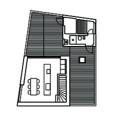Grundriss AG Wohn- und Atelierhaus Mühlestrasse von Dipl. Architekten ETH SIA OTIA<br/>