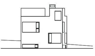 Ostansicht  Wohn- und Atelierhaus Mühlestrasse von Dipl. Architekten ETH SIA OTIA<br/>