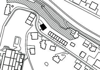 Umgebung 1:500 Wohn- und Atelierhaus Mühlestrasse von Dipl. Architekten ETH SIA OTIA<br/>