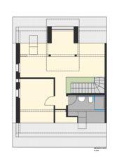 Dachgeschoss Studio Arbeiterhaus in Einfamilienhaus von Eduard Otto Baumann<br/>