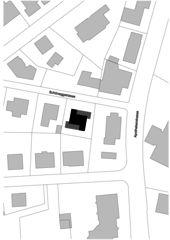 Situationsplan Roh und direkt - Wohnhaus in Uster von wild bär heule architekten ag