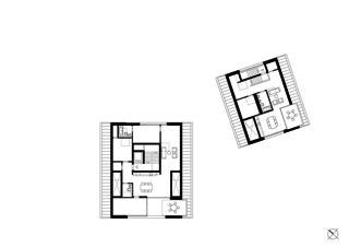 Dachgeschoss Wohnensemble in Erlenbach  von wild bär heule architekten ag